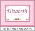 Elizabeth - Significado y origen