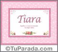 Tiara - Significado y origen