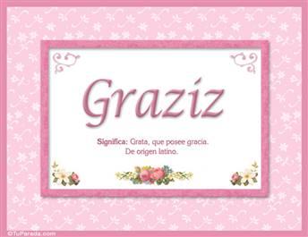 Graziz - Significado y origen