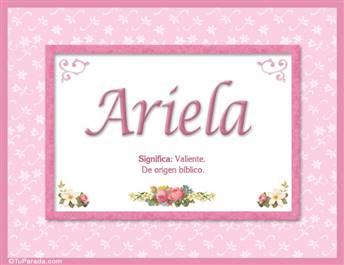 Ariela - Significado y origen
