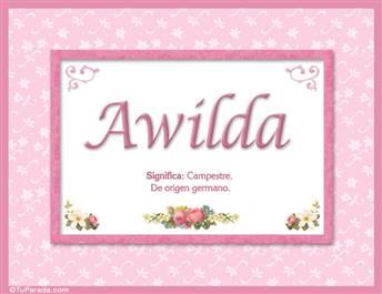 Awilda - Significado y origen