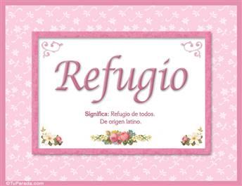 Refugio - Significado y origen