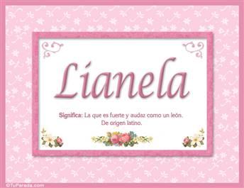 Lianela - Significado y origen