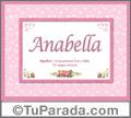 Anabella - Significado y origen