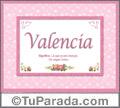 Valencia - Significado y origen