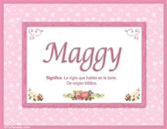 Maggy - Significado y origen