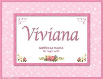 Viviana - Significado y origen