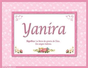 Yanira - Significado y origen