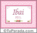 Ibai - Significado y origen