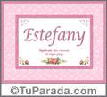 Estefany - Significado y origen