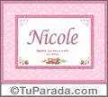 Nicole - Significado y origen