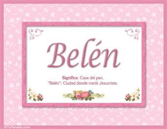 Belén - Significado y origen