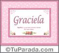 Graciela - Significado y origen