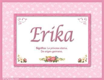 Erika - Significado y origen