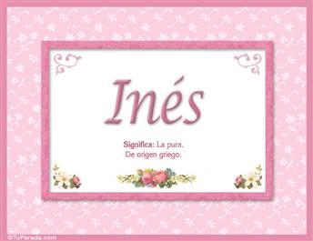 Inés - Significado y origen