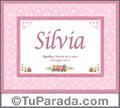 Silvia, nombre, significado y origen de nombres