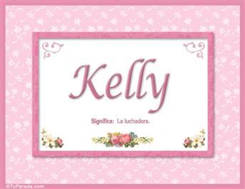 Kelly, nombre, significado y origen de nombres