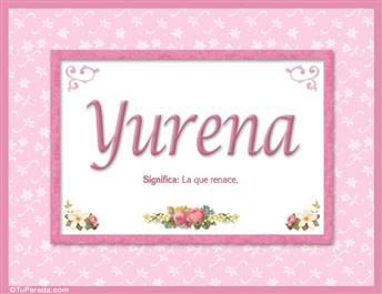 Yurena, nombre, significado y origen de nombres