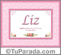 Liz, nombre