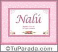 Nalú, nombre, significado y origen de nombres