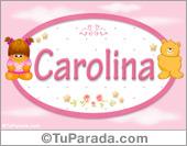 Carolina - Con personajes