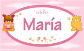 María - Con personajes