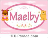 Maelby - Nombre para bebé