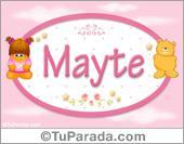 Mayte - Nombre para bebé