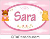 Sara - Con personajes