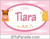 Tiara - Con personajes