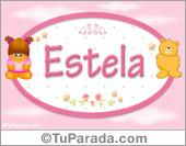 Estela - Con personajes