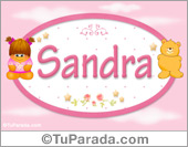 Sandra - Con personajes
