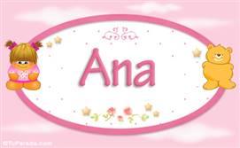 Tarjetas, postales: Nombres Niñas