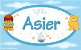 Asier - Con personajes