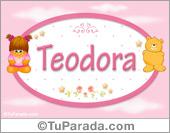 Teodora - Nombre para bebé