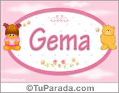 Gema - Con personajes