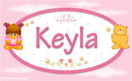 Keyla - Con personajes