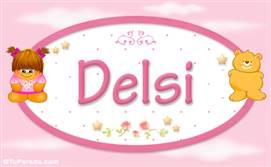Delsi - Con personajes