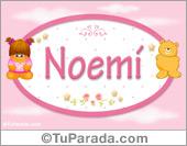 Noemi -Con personajes