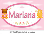 Mariana - Con personajes
