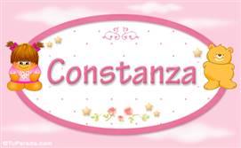Constanza - Con personajes