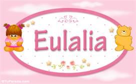 Eulalia - Con personajes
