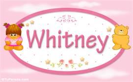 Whitney - Nombre para bebé