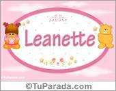 Leanette - Con personajes
