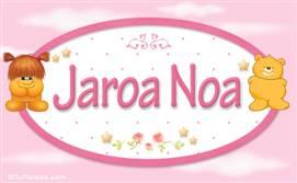 Jaroa Noa - Con personajes