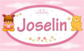 Joselin - Con personajes