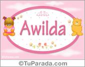 Awilda - Con personajes