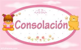 Consolación - Con personajes