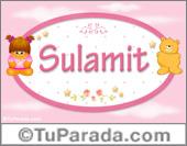 Sulamit - Nombre para bebé