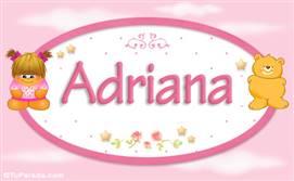 Adriana - Nombre para bebé